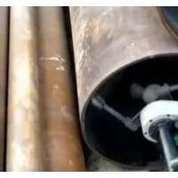 管道内壁喷砂工作视频
