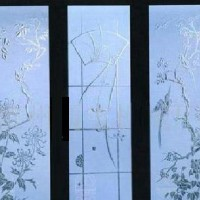 工艺玻璃喷砂